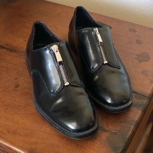 Leather Zara Shoes
